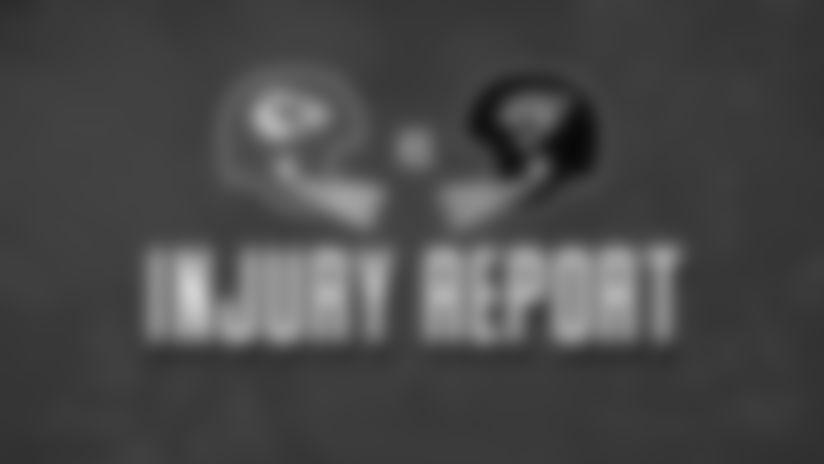 Chiefs vs. Jaguars: Injury Report