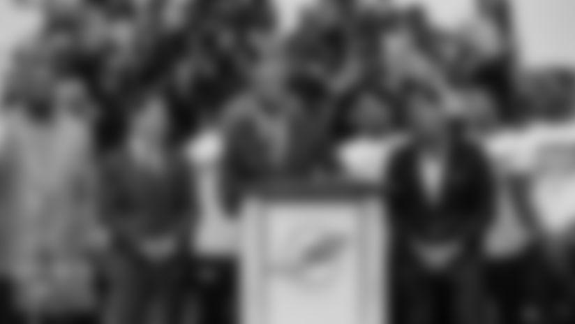 DOLPHINS DARKROOM: Values Matter Miami Press Conference