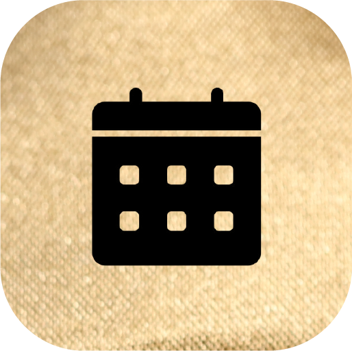 Icons-Black-GoldTexture-Calendar