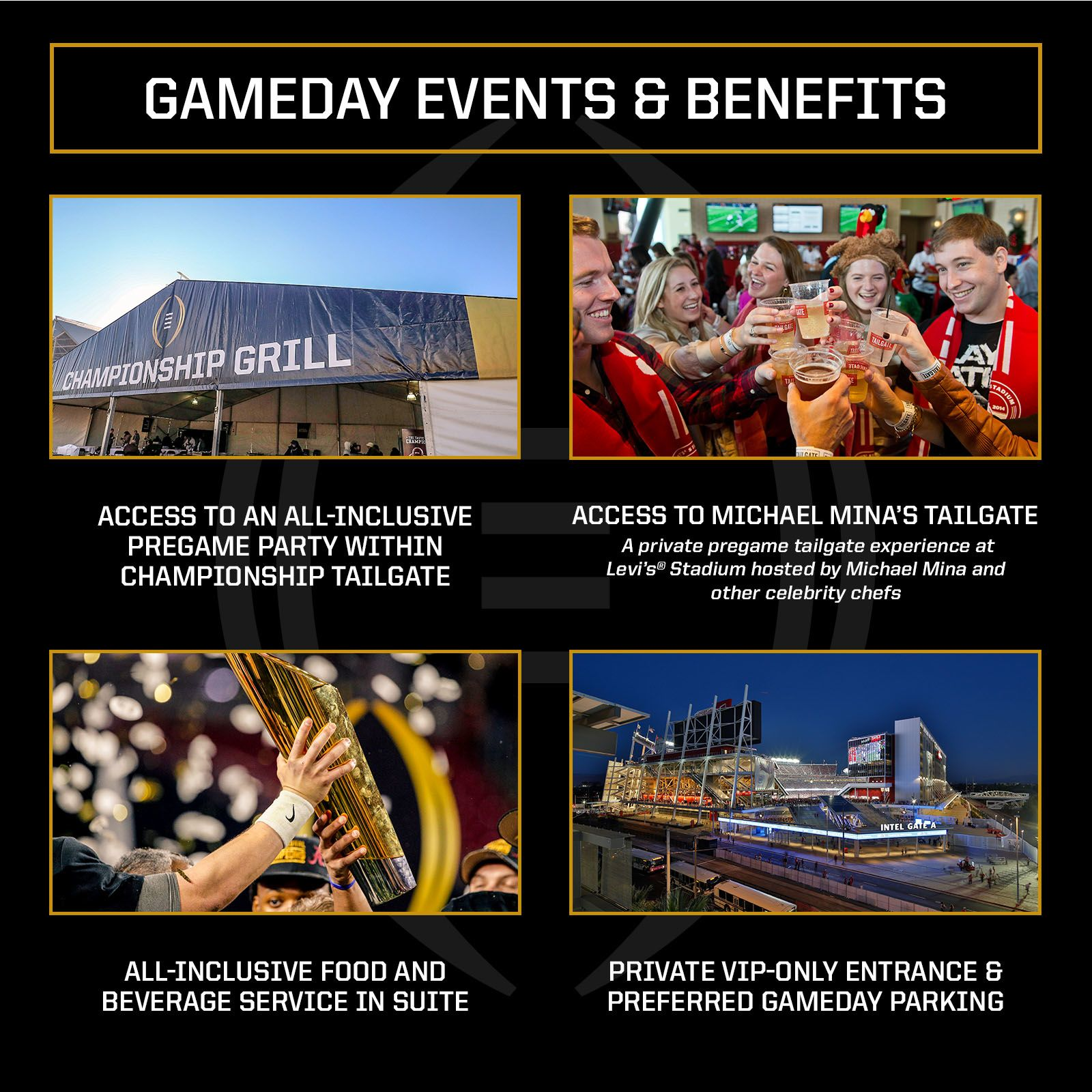 CFP-SuitePackage-Gameday Events & Benefits