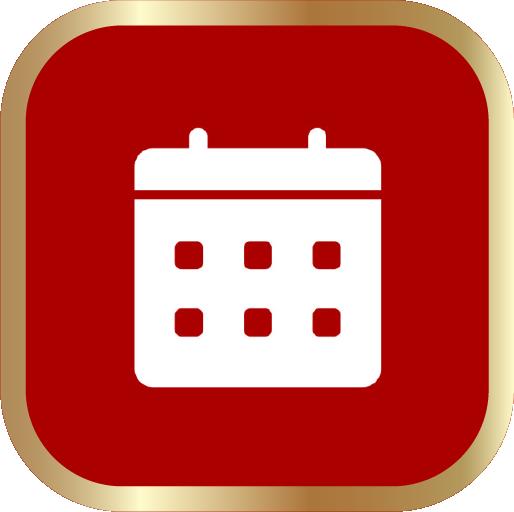 Icons-White-RedwGoldOutline-Calendar