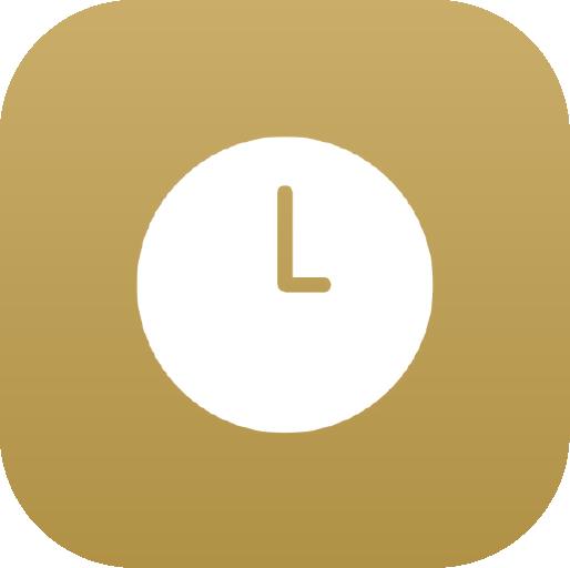 Icons-White-GoldGradient-Clock