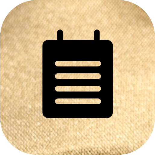 Icons-Black-GoldTexture-Notes