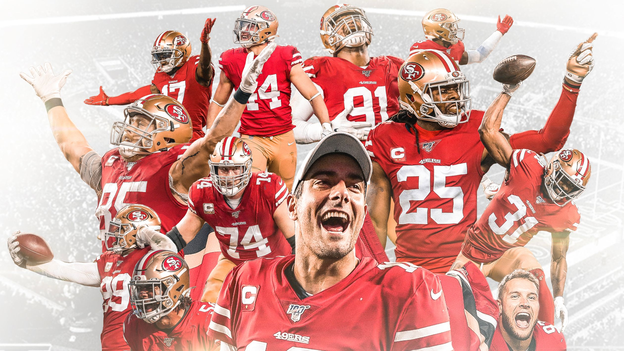 Print the Official 49ers Playoffs Poster