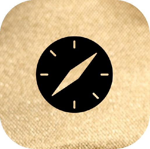 Icons-Black-GoldTexture-Safari