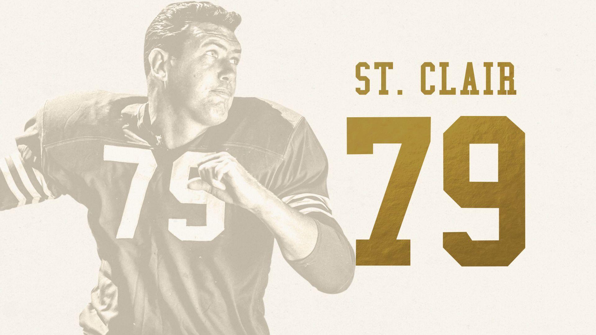 Bob St. Clair, T (1953-1963)