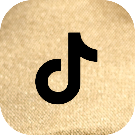 Icons-Black-GoldTexture-TikTok