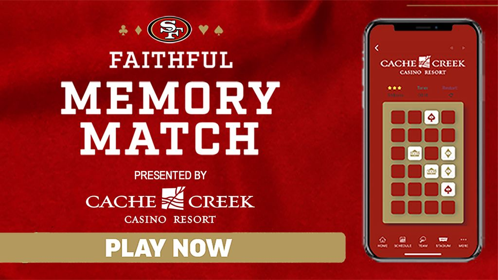Faithful Memory Match presented by Cache Creek Casino Resort