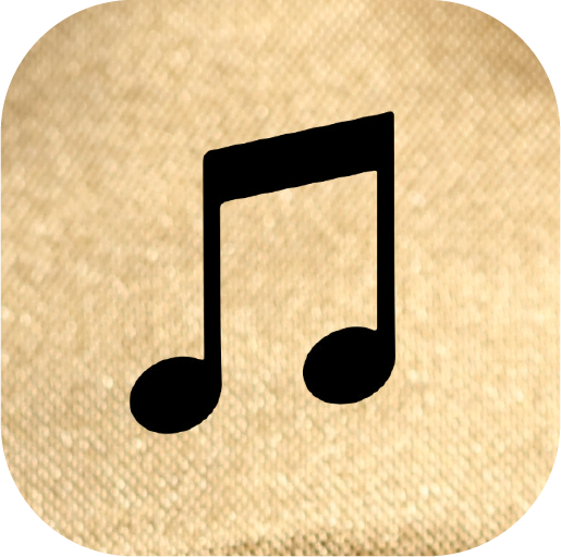 Icons-Black-GoldTexture-Music