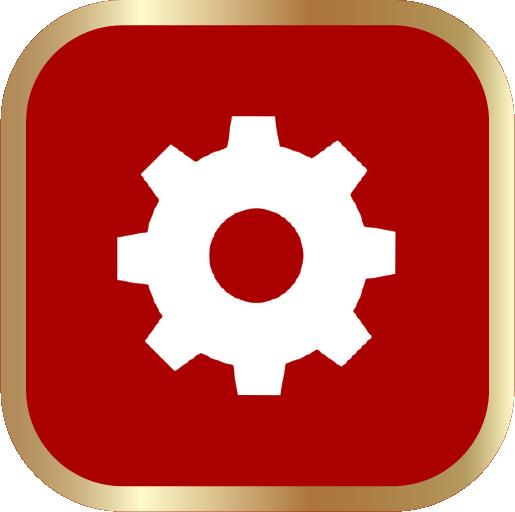 Icons-White-RedwGoldOutline-Settings