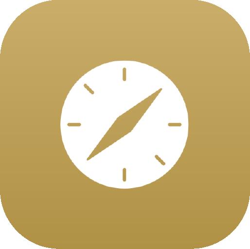 Icons-White-GoldGradient-Safari