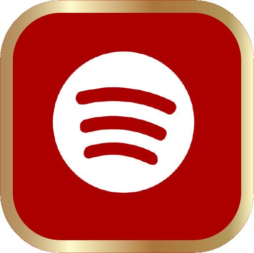 Icons-White-RedwGoldOutline-Spotify