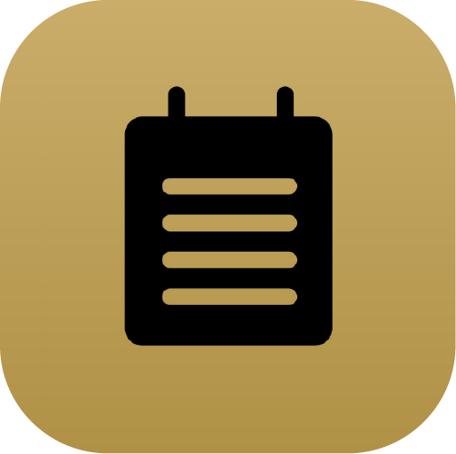 Icons-Black-GoldGradient-Notes