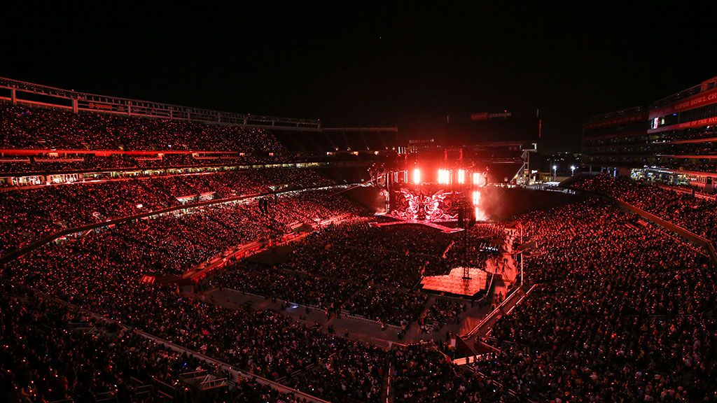 49ers Foundation's VIP Concert Party at Rolling Stones