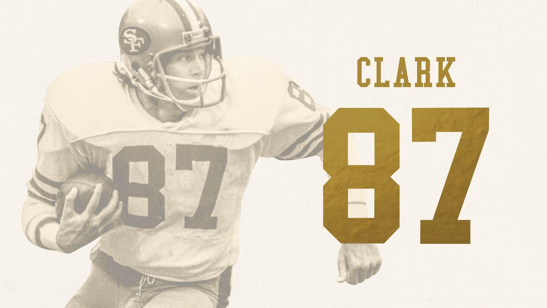 Dwight Clark, WR (1979-1987)