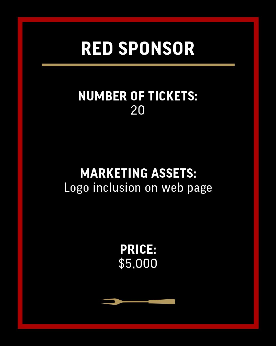 Red Sponsor-Ticket Option-4x5