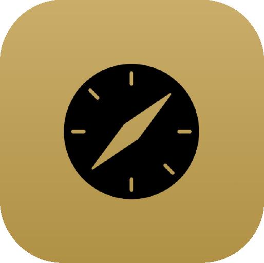 Icons-Black-GoldGradient-Safari