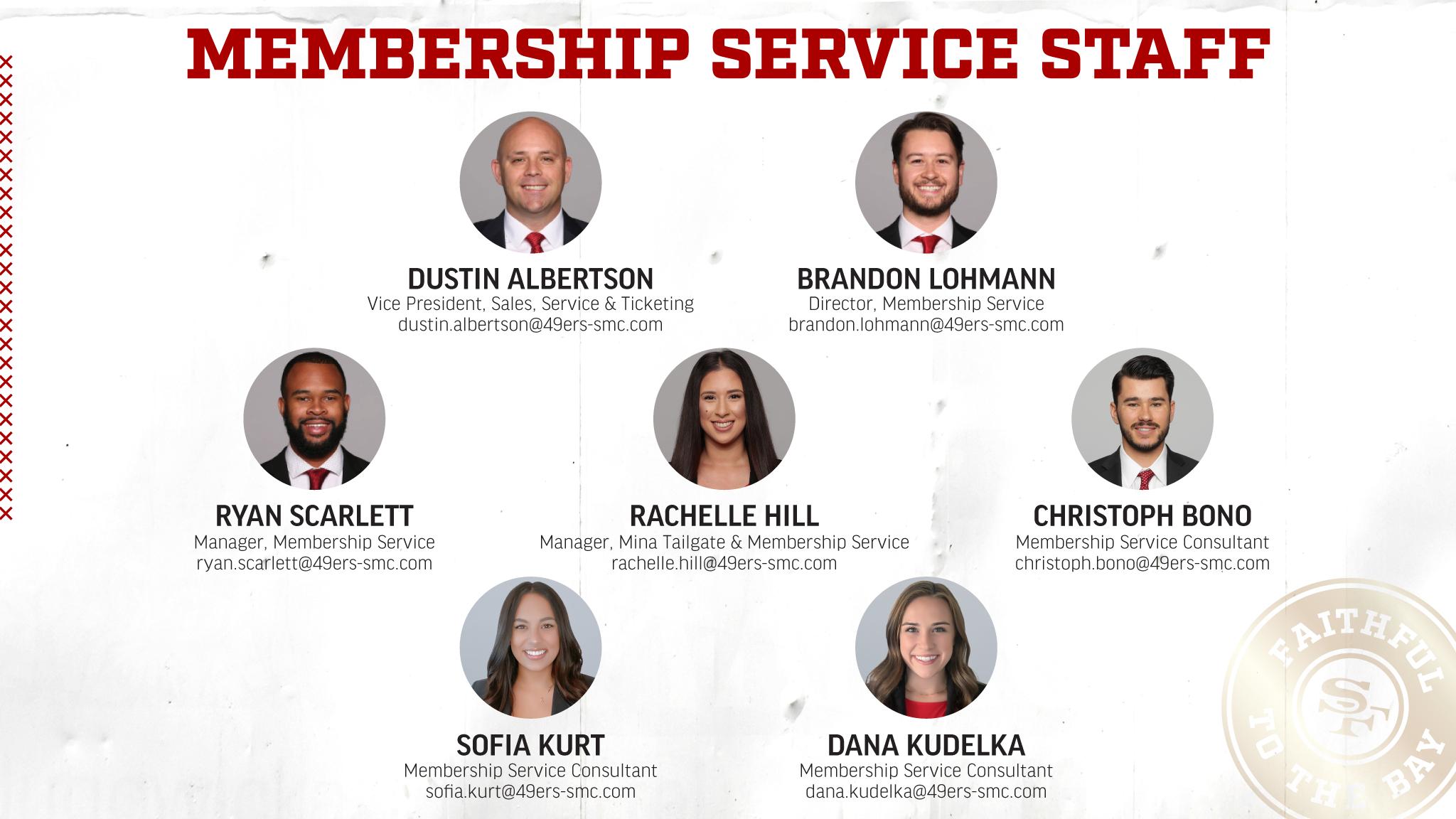 MembershipServiceStaff