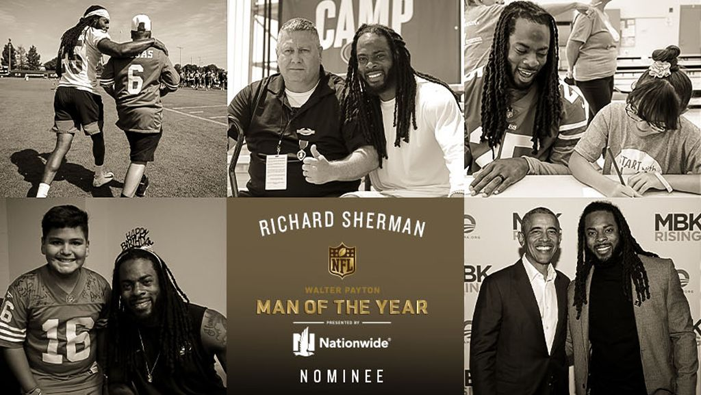December 12: Richard Sherman's Work in the Community