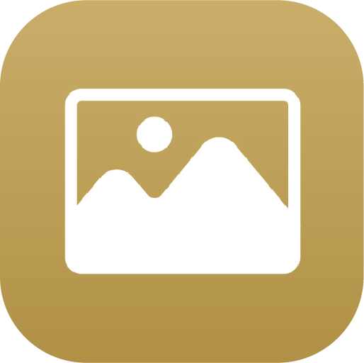 Icons-White-GoldGradient-Photos