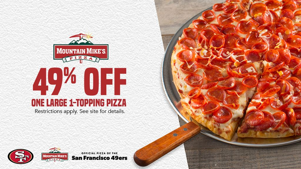 Mountain Mike's Pizza Promotion 🍕