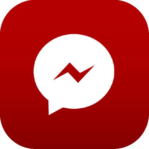 Icons-White-RedGradient-Messenger