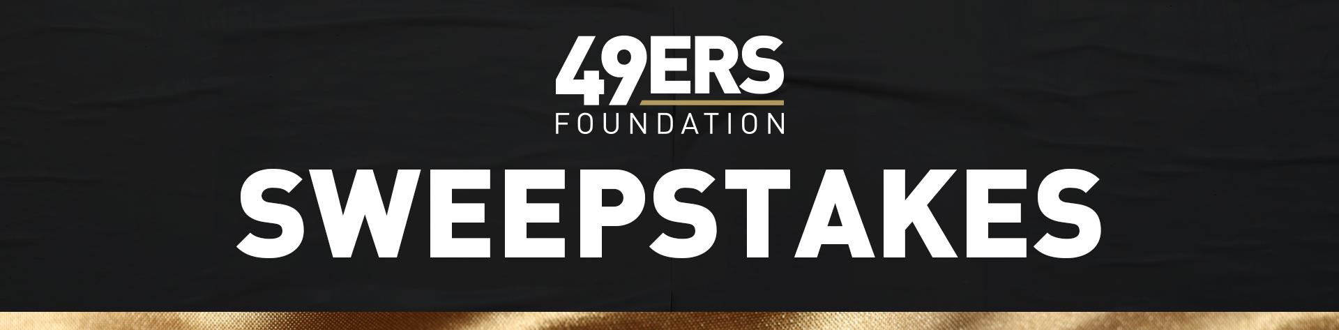 49ersFoundation-Sweepstakes-WebHeader