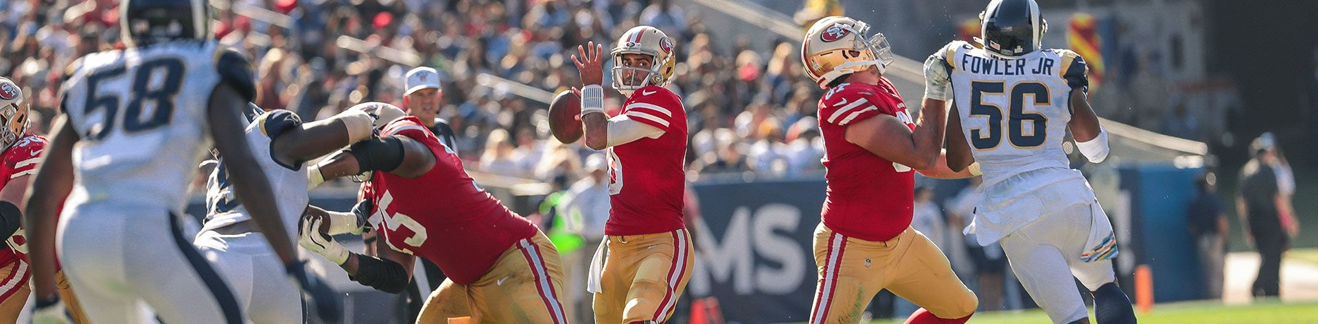 San Francisco 49ers at Los Angeles Rams