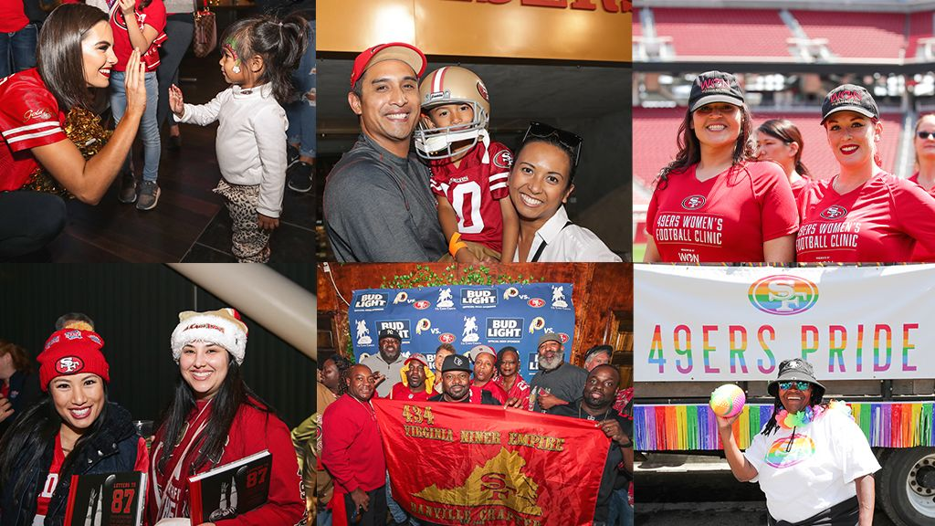 Learn More about 49ers Fan Clubs