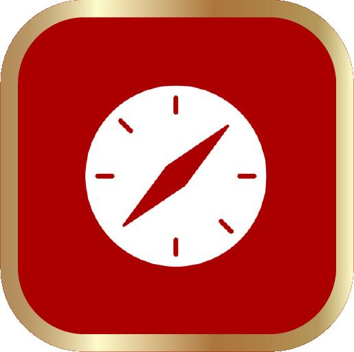 Icons-White-RedwGoldOutline-Safari