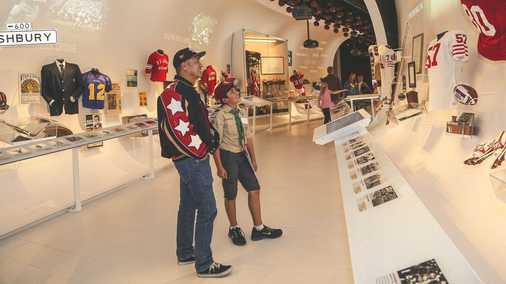 Complimentary 49ers Museum Access