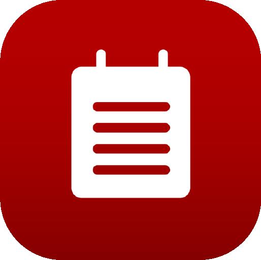 Icons-White-RedGradient-Notes