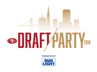 Don't Miss the 49ers 2018 Draft Party!