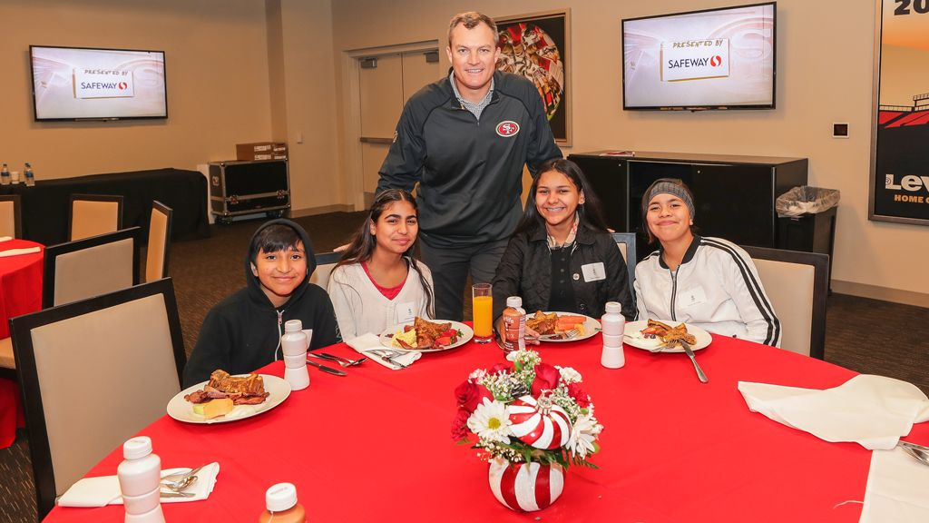 December 25: John Lynch Foundation Hosts 23rd Annual Christmas Party Presented by United Airlines