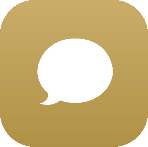 Icons-White-GoldGradient-Messages