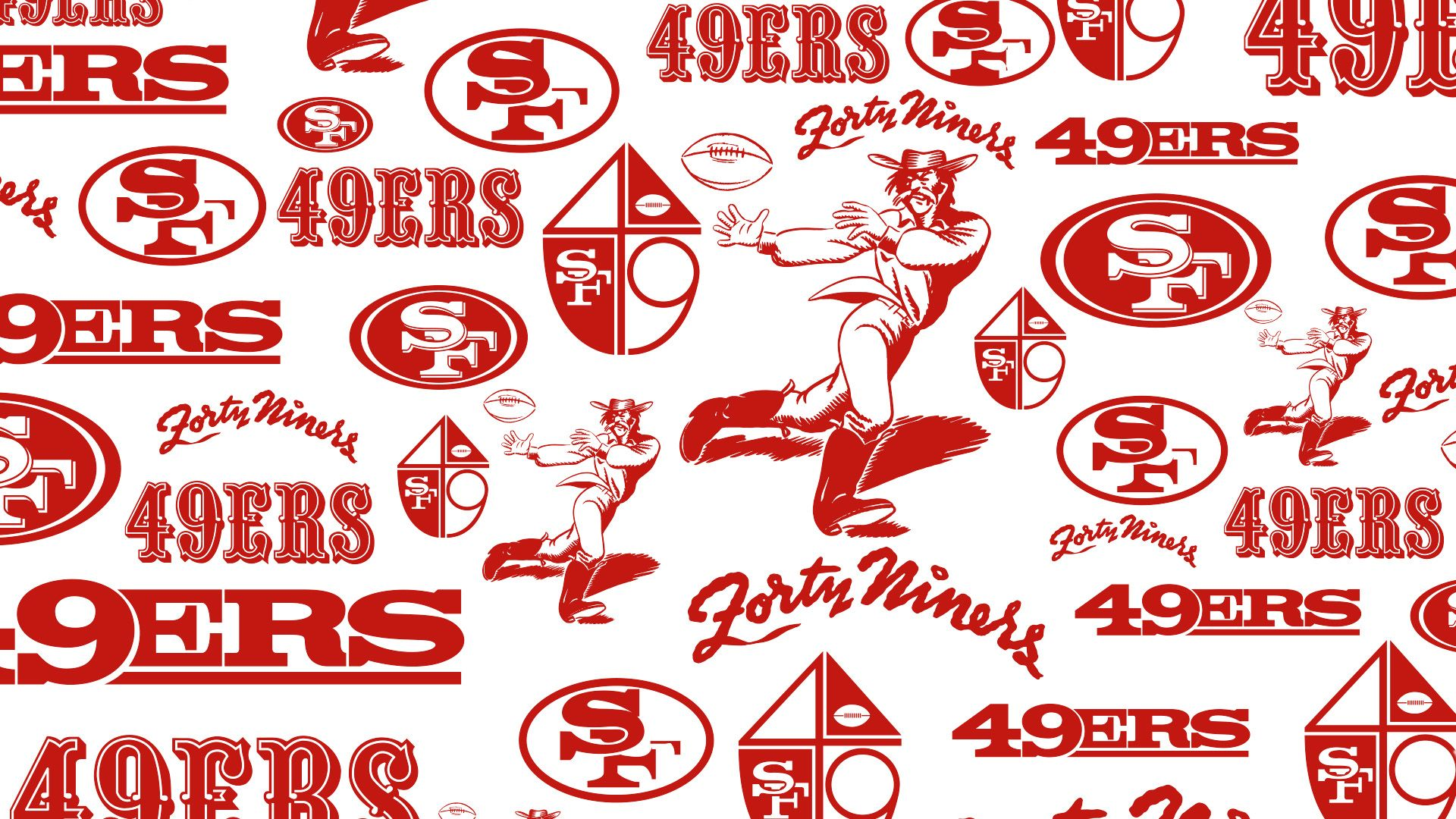 Zoom-Background-49ers-Pattern
