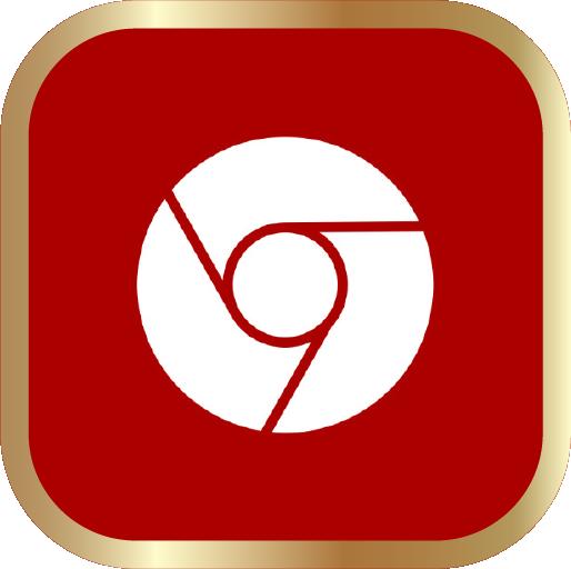 Icons-White-RedwGoldOutline-Chrome