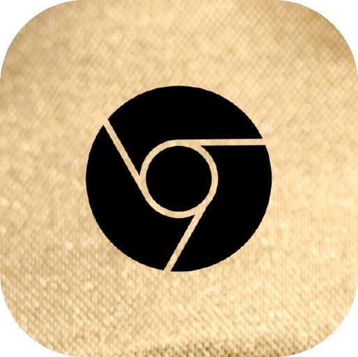Icons-Black-GoldTexture-Chrome