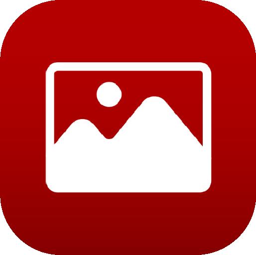 Icons-White-RedGradient-Photos