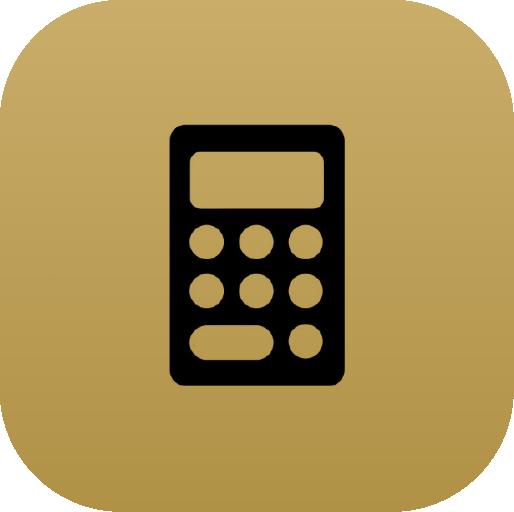 Icons-Black-GoldGradient-Calculator