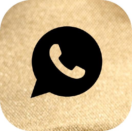 Icons-Black-GoldTexture-WhatsApp