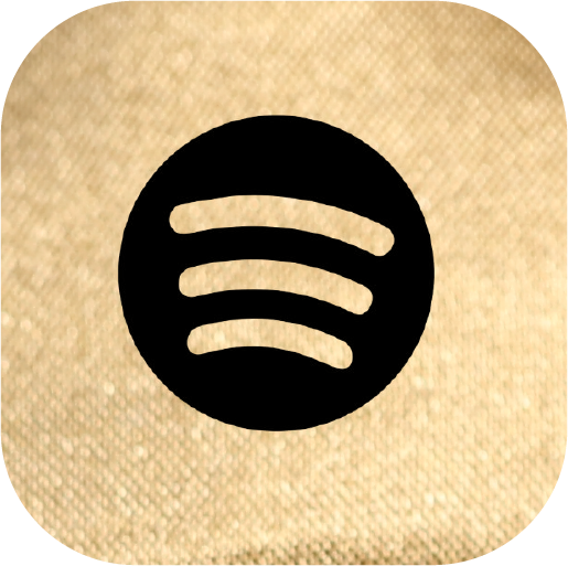 Icons-Black-GoldTexture-Spotify