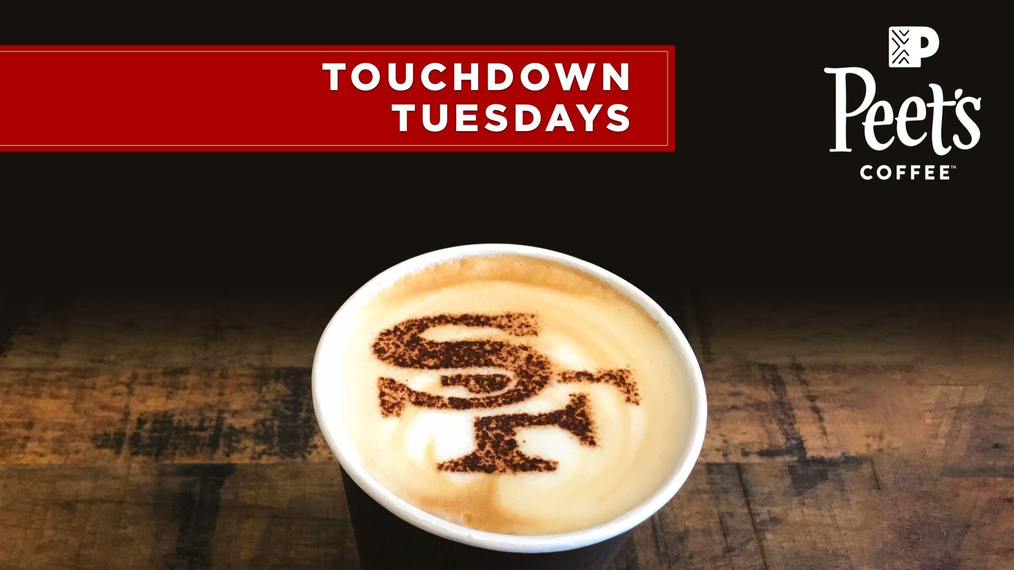 Peet's Touchdown Tuesday