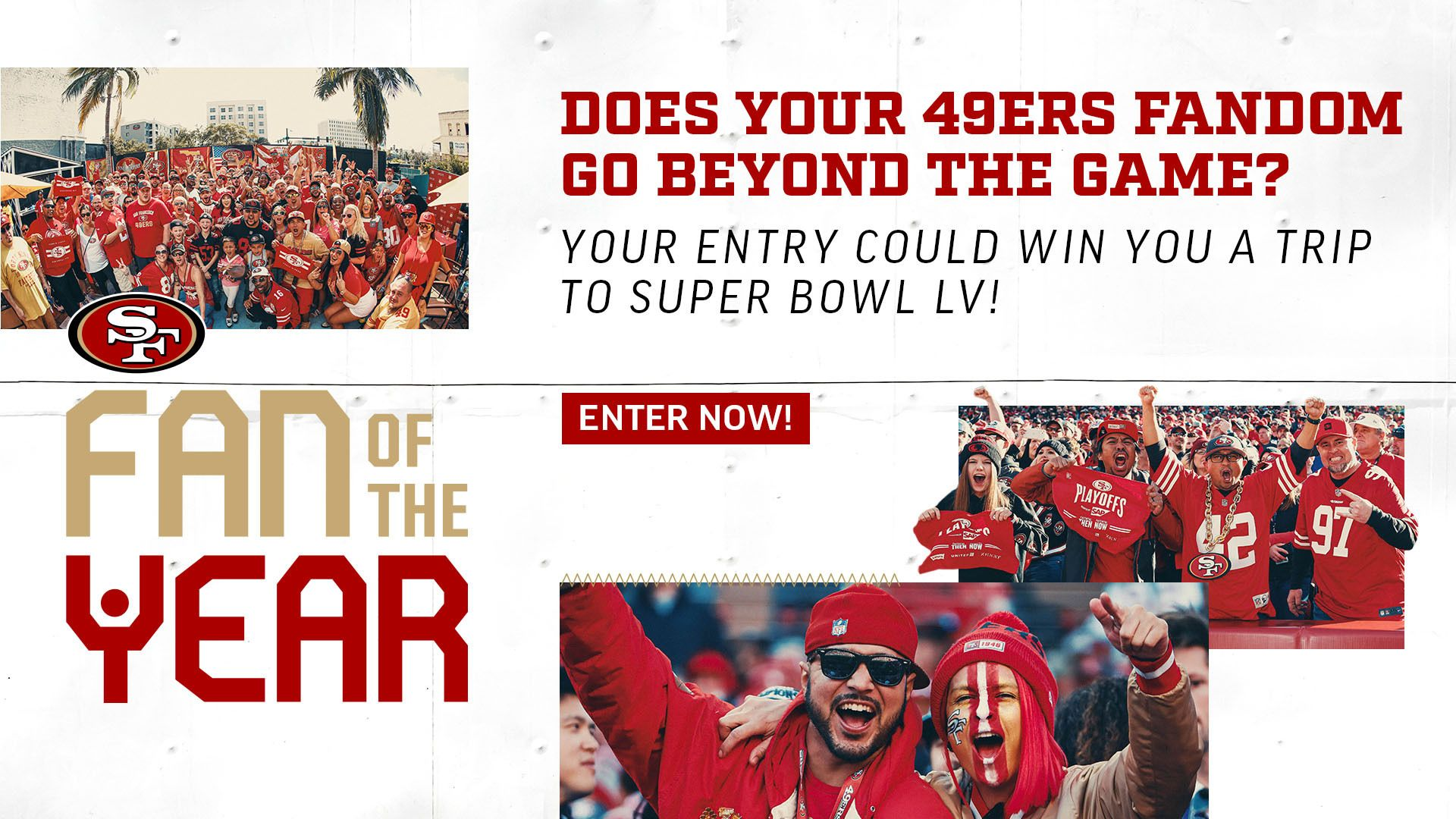49ers Fan of the Year presented by Pepsi