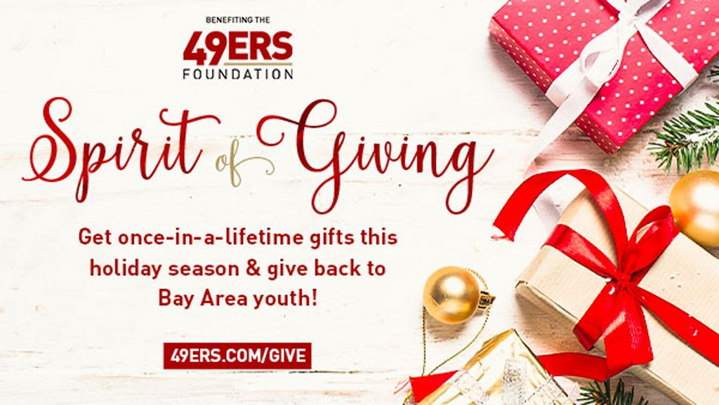 49ers Foundation's Holiday Sports Auction
