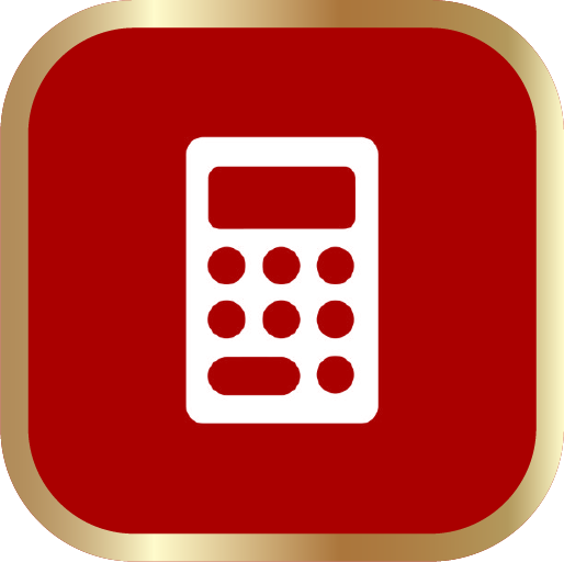Icons-White-RedwGoldOutline-Calculator