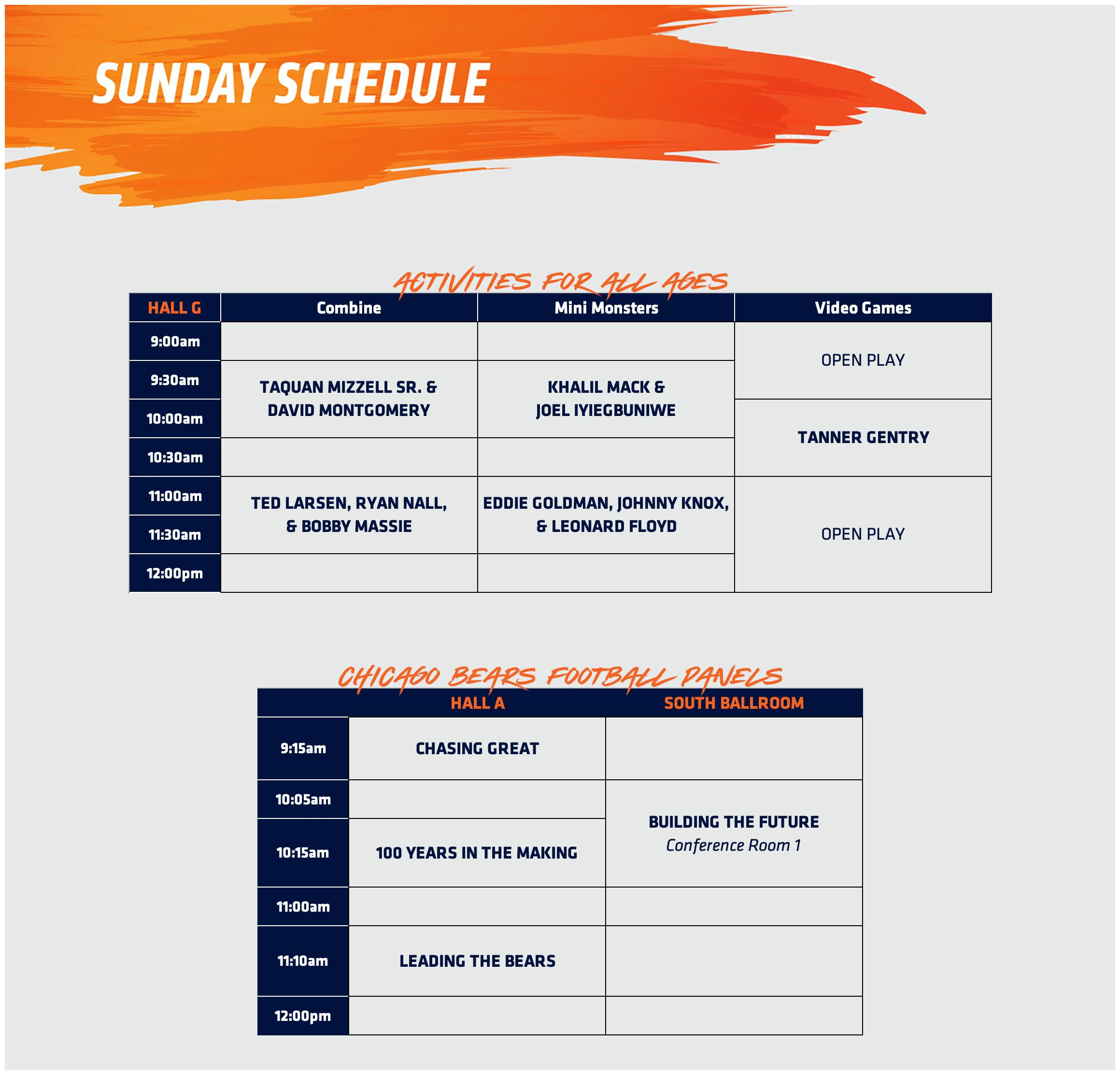 sun-schedule-052319