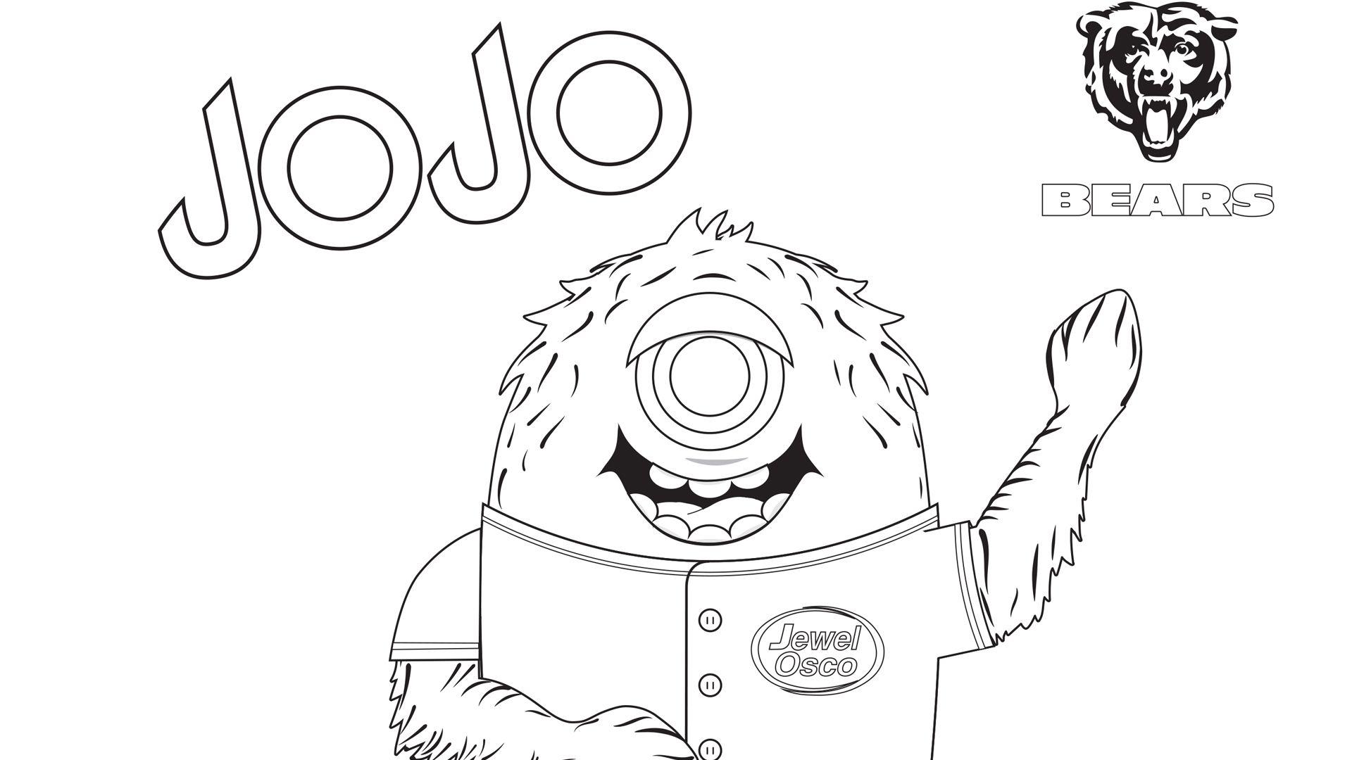 JoJo Coloring Page