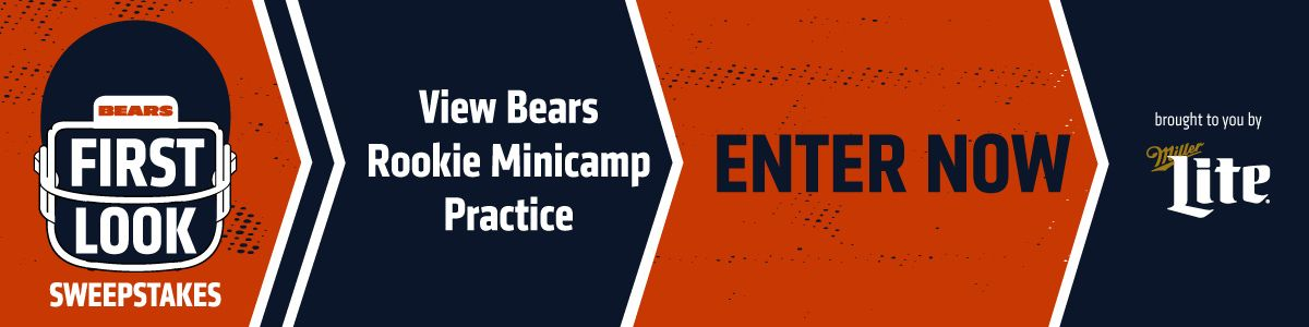 BE THE FIRST TO SEE THE BEARS ROOKIES IN ACTION