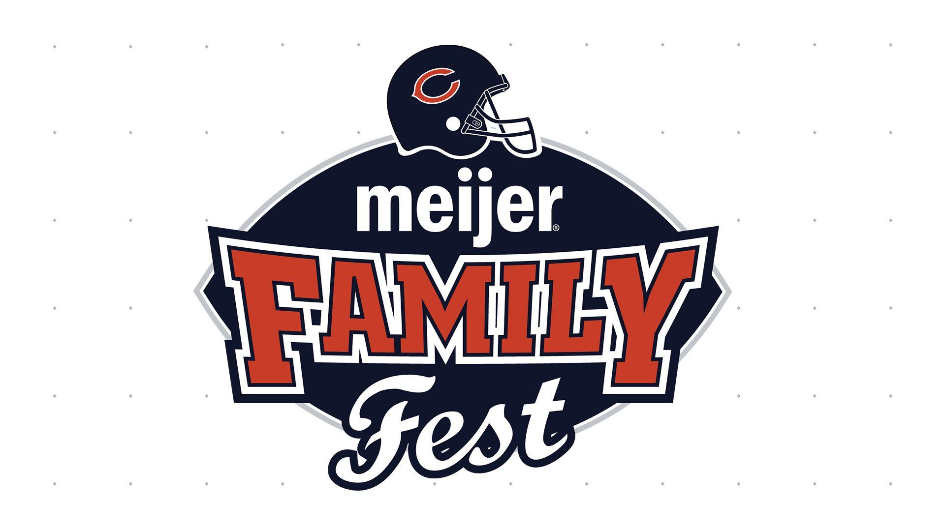Meijer Chicago Bears Family Fest